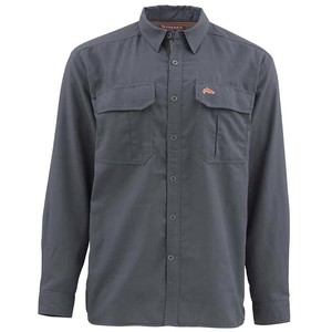 Фото Рубашка Simms Coldweather LS Shirt, Oxford Blue, XL
