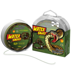 Фото Шнур Power Phantom WaterSnake PE 135m, camo-brown #1,5 (12,7кг), 0,20m