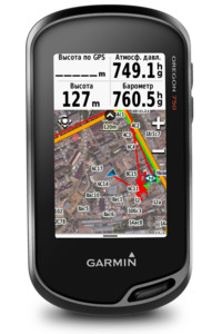Фото Навигатор Garmin Oregon 750t с картами России ТОПО 6