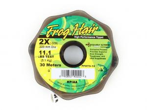 Фото Леска Frog Hair High Perfomance Tippet 0.223 mm 30m 5.1kg