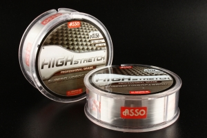Фото Леска ASSO Fluorocarbon High Stretch 0.259mm 50m