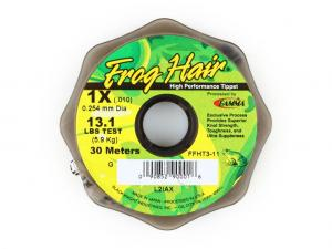 Фото Леска Frog Hair High Perfomance Tippet 0.254 mm 30m 5.95kg