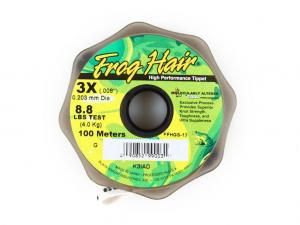 Фото Леска Frog Hair High Perfomance Tippet 0.203 mm 100m 3.9kg