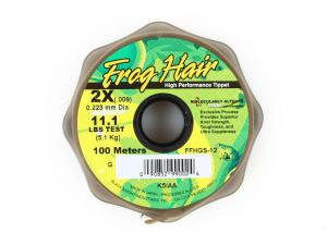 Фото Леска Frog Hair High Perfomance Tippet 0.223 mm 100m 5.1kg
