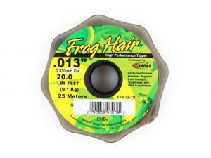 Фото Леска Frog Hair High Perfomance Tippet 0.330 mm 25m 9.09kg