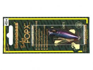 Фото Воблер MegaBass Baby Pop-X  (glx cosmic black bass)