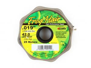 Фото Леска Frog Hair High Perfomance Tippet 0.534 mm 25m 19kg