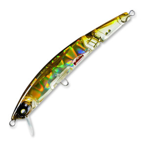 Фото Воблер Yo-Zuri Crystal 3D Minnow Jointed 130F 130mm F1051-HAY