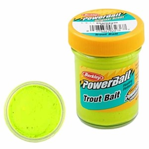 Фото Паста Berkley PowerBait Biodegradable Trout Bait 50g Chartreuse