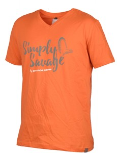 Фото Футболка SG Simply Savage Orange XXL