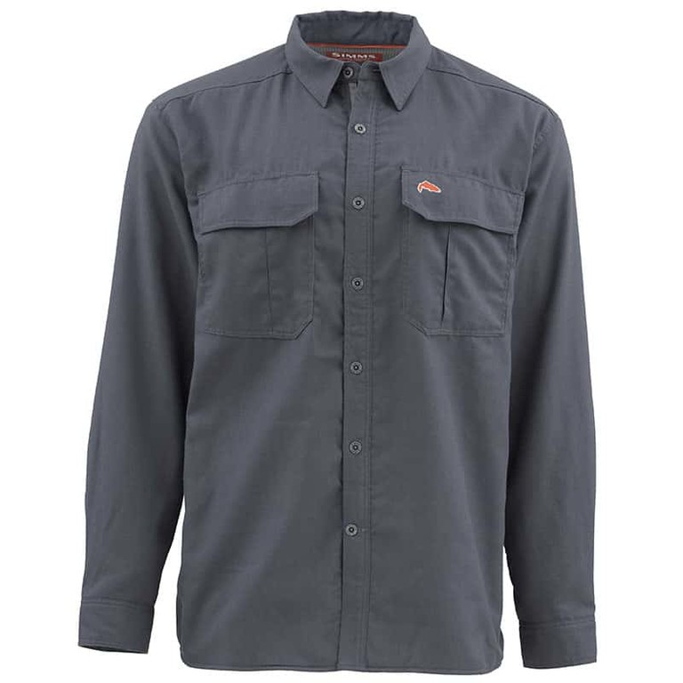 130fbb5b51e8 Фотография Рубашка Simms Coldweather LS Shirt, Oxford Blue, XL Увеличить