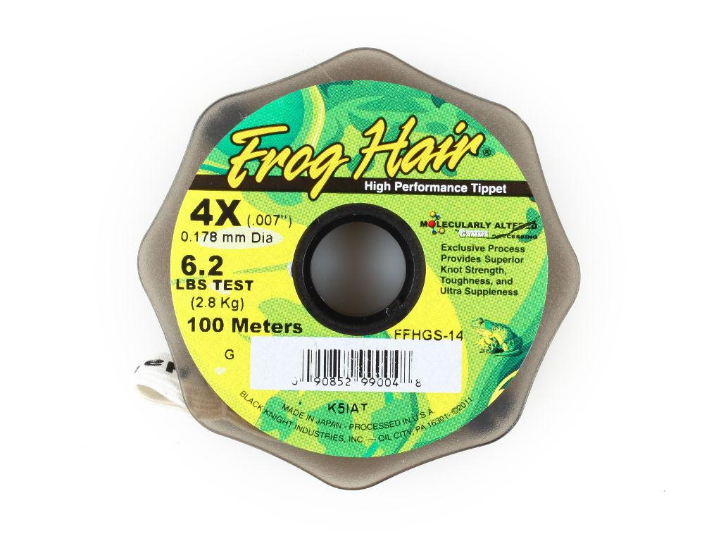 Фотография Леска Frog Hair High Perfomance Tippet 0.178 mm 100m 2.8kg