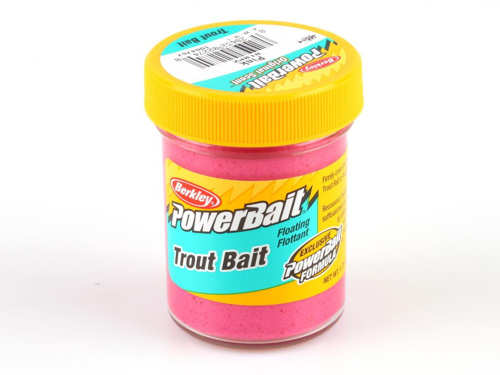 Фотография Паста Berkley PowerBait Biodegradable Trout Bait 50g Pink