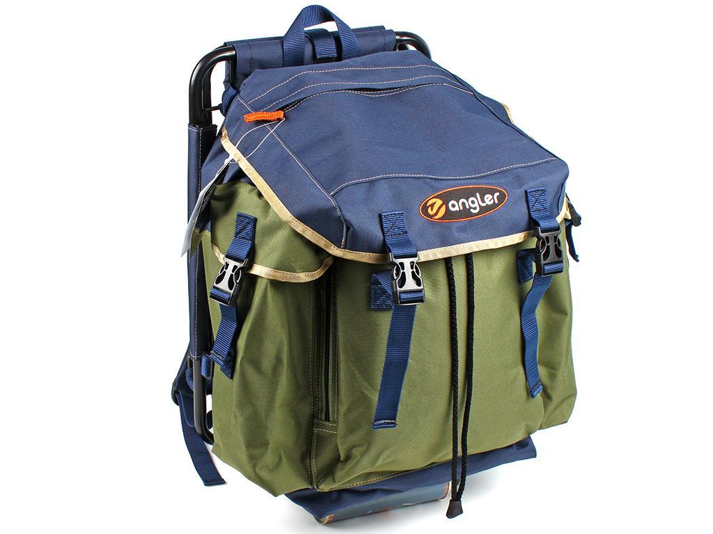 Рюкзак со стулом Angler 370 син.-хак. - РыбачОК - Рыболовный ... 13d2f817cfe