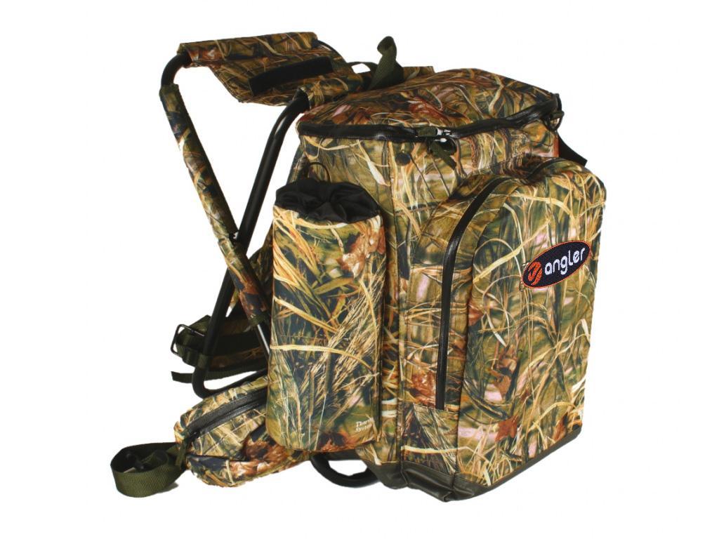 Рюкзак со стулом Angler 371 L камуфляж камыш купить по цене 5 490 ... 9e08761b095