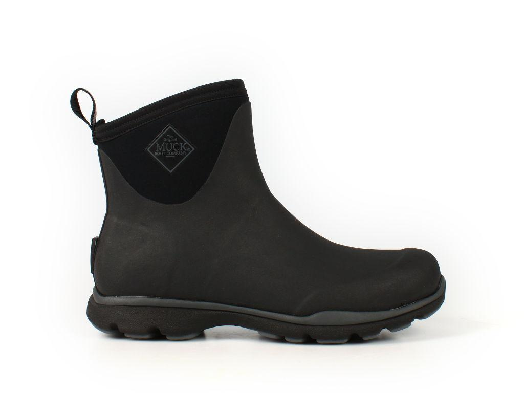 Фотография Сапоги MuckBoot Arctic Excursion Ankle (Серые с черным)