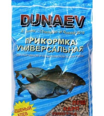 Прикормка Dunaev-Классика Универсальная (гранулы) 0,9кг купить по цене 110 рублей - РыбачОК - Рыболовный интернет-магазин