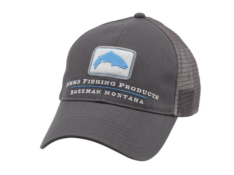 Фотография Кепка Simms Trout Trucker Cap Anvil