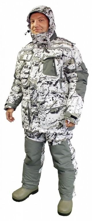 зимний рыболовный костюм с мембраной