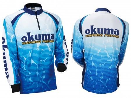 94481a5a023b1 Футболка Okuma motif tournament jersey купить по цене 3 390 рублей ...